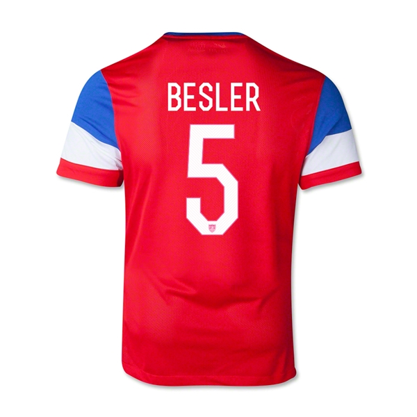 USA 14/15 BESLER Youth Away Soccer Jersey