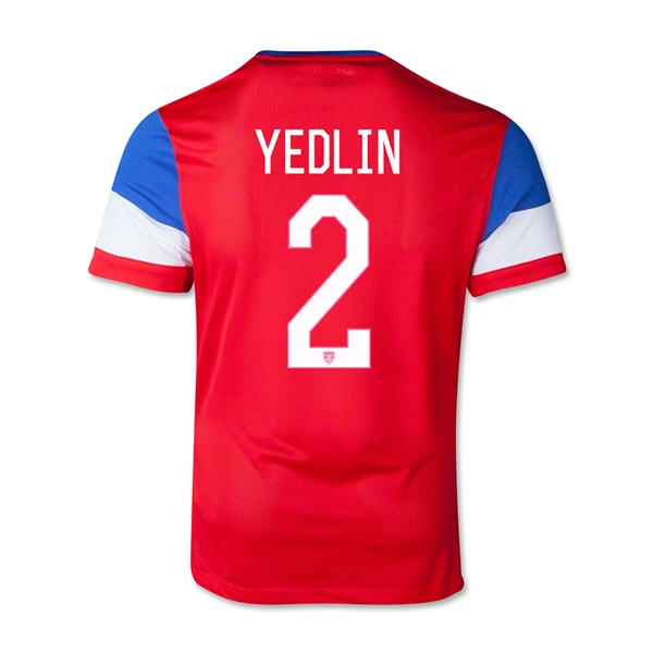 USA 14/15 YEDLIN Youth Away Soccer Jersey