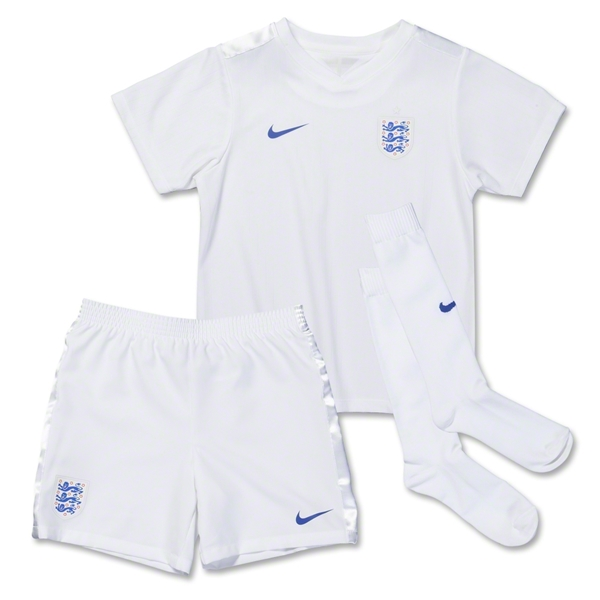 England 2014 Little Boys Home Soccer Kit