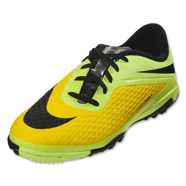 Nike Junior Hypervenom Phelon TF (Vibrant Yellow)