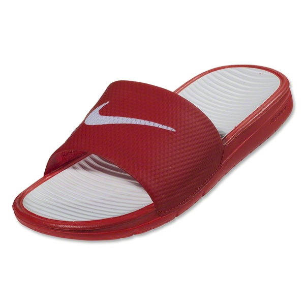 Nike Benassi Solarsoft Slide Sandal (University Red)