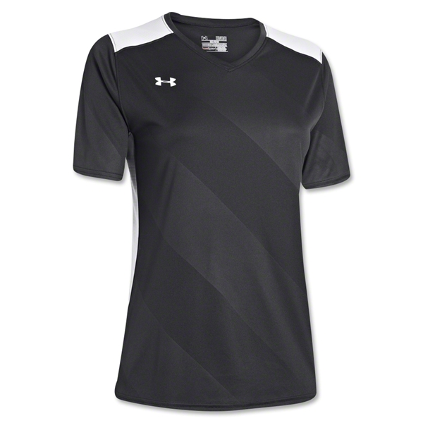 Under Armour Women's Fixture Jersey (Blk/Wht)