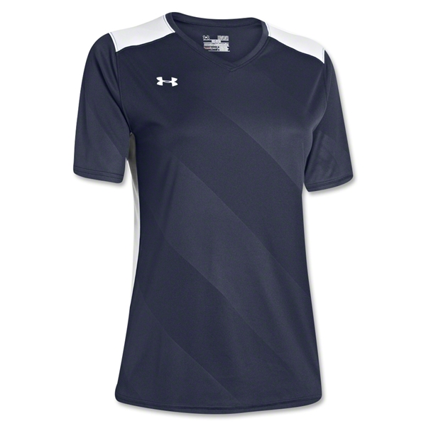 Under Armour Women's Fixture Jersey (Navy/White)