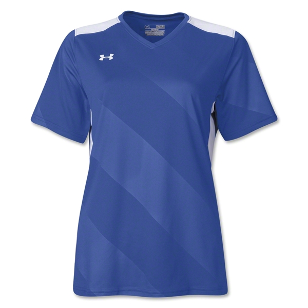 Under Armour Women's Fixture Jersey (Roy/Wht)