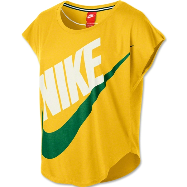 Nike Signal Women's T-Shirt (Yellow)
