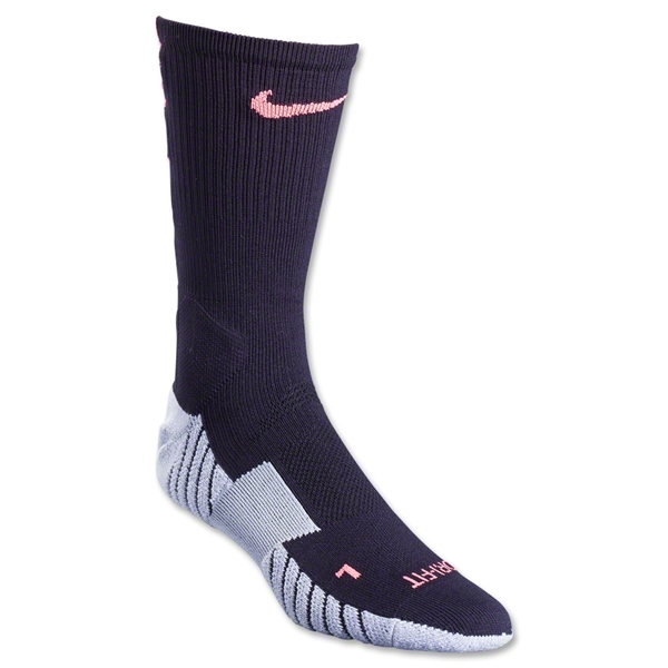 Nike Stadium Crew Sock (Black/Pink)