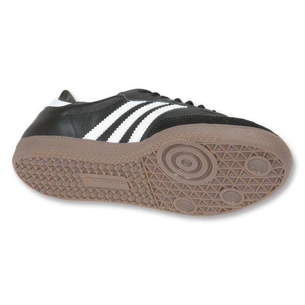 adidas Samba Leather Shoes (Black/White/Gum)