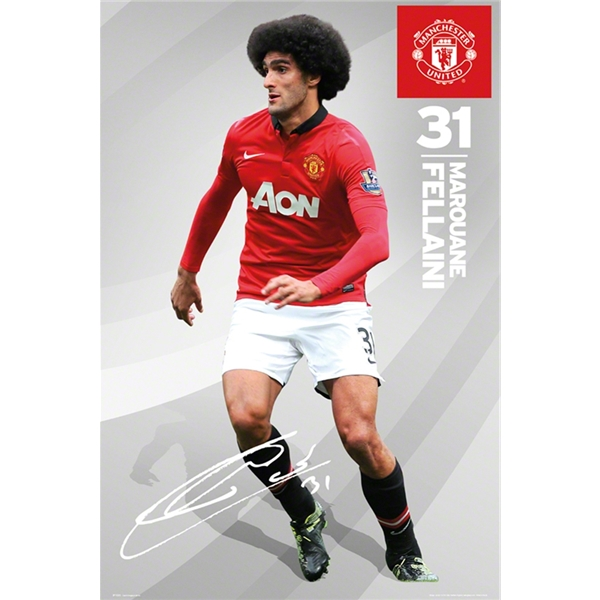 Manchester United Fellaini Poster