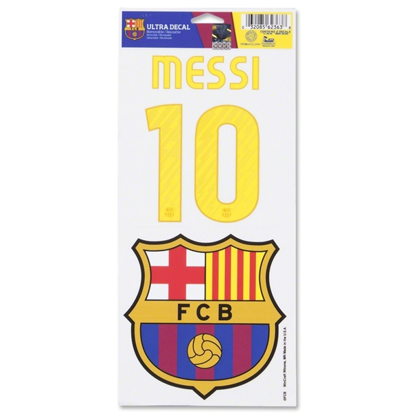 Barcelona Messi Decal Set