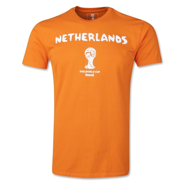 Netherlands 2014 FIFA World Cup T-Shirt (Orange)