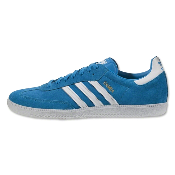 adidas Originals Samba (Solar Blue/White)