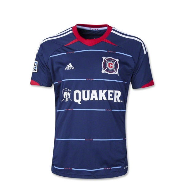 Chicago Fire 2014 Youth Away Soccer Jersey