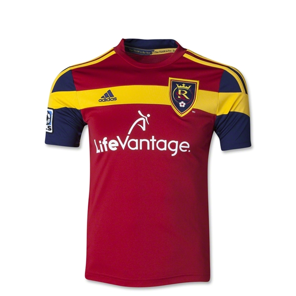 Real Salt Lake 2014 Youth Primary Soccer Jersey