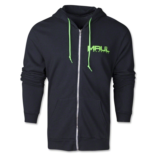 Maul Rugby BrightLine Mean Green Hoody