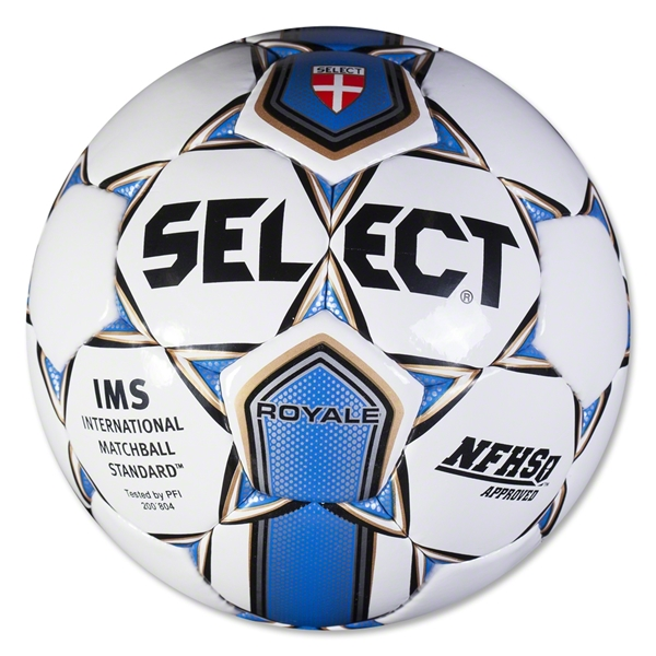 Select Royale Ball (White/Royal)