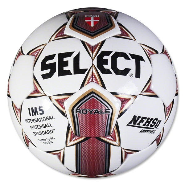 Select Royale Ball (White/Maroon)