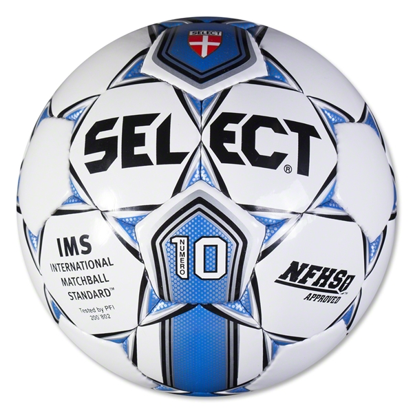 Select Numero 10 Ball (White/Royal)