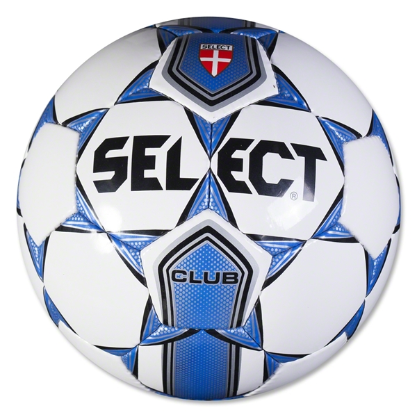 Select Club Ball (White/Royal)