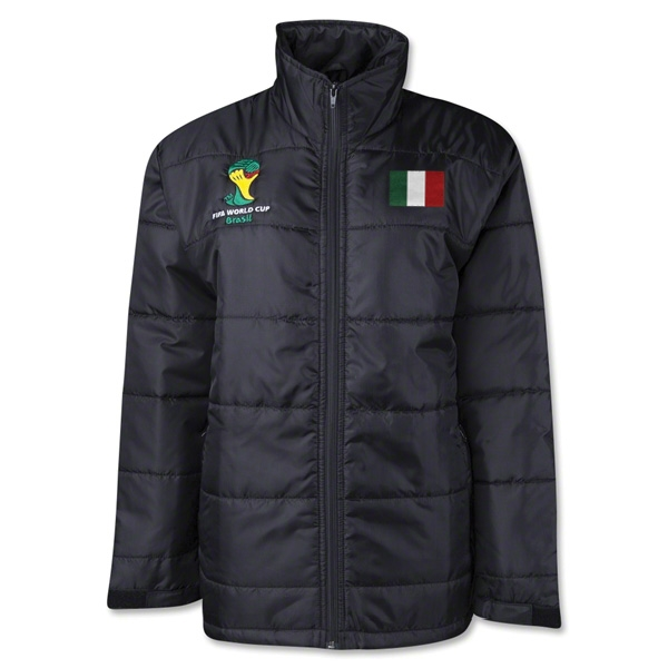 Italy 2014 FIFA World Cup Puffer Jacket