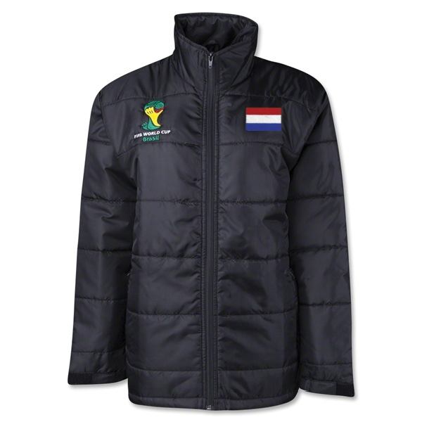 Netherlands 2014 FIFA World Cup Puffer Jacket
