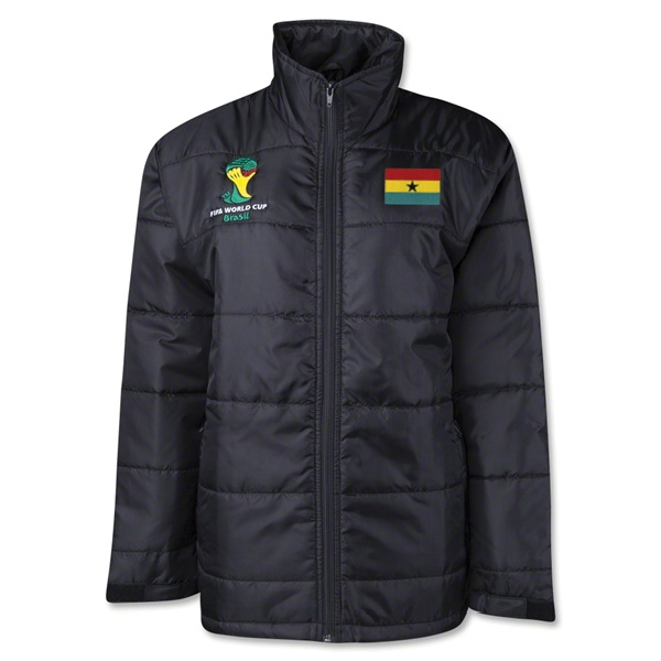 Ghana 2014 FIFA World Cup Puffer Jacket