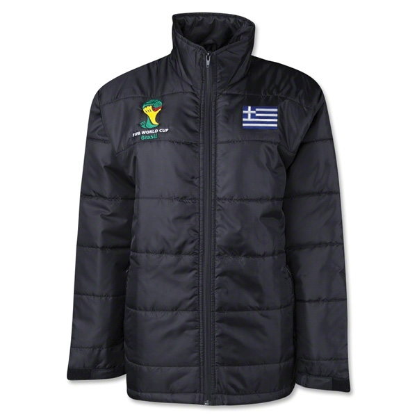 Greece 2014 FIFA World Cup Puffer Jacket