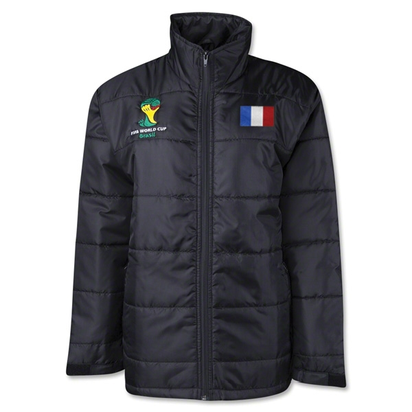 France 2014 FIFA World Cup Puffer Jacket