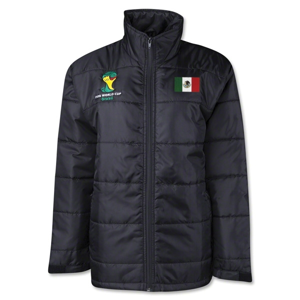 Mexico 2014 FIFA World Cup Puffer Jacket