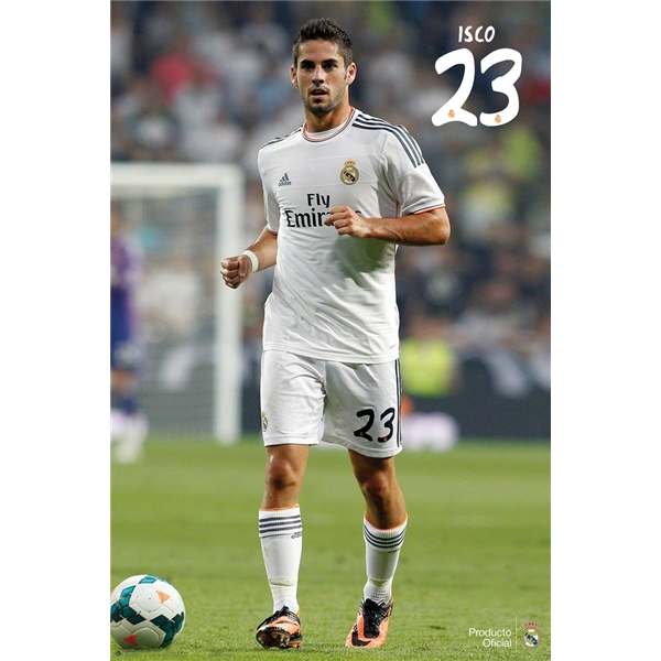 Real Poster Isco Poster