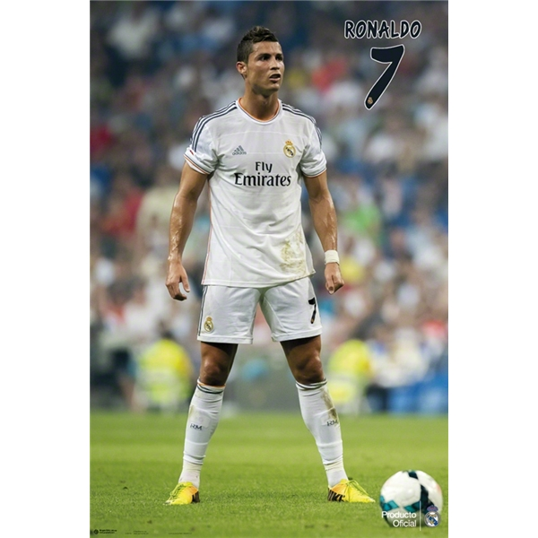 Real Madrid Ronaldo Poster
