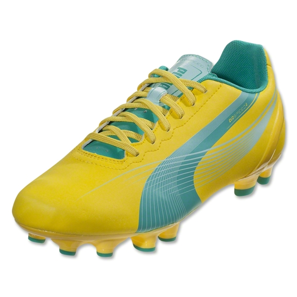 PUMA Women's evoSPEED 4.2 FG (Vibrant Yellow)