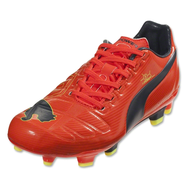 Puma evoPower 3 FG Junior (Fluo Peach/Ombre Blue)