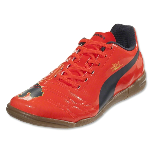 Puma evoPower 4 IT Junior (Fluo Peach/Ombre Blue)