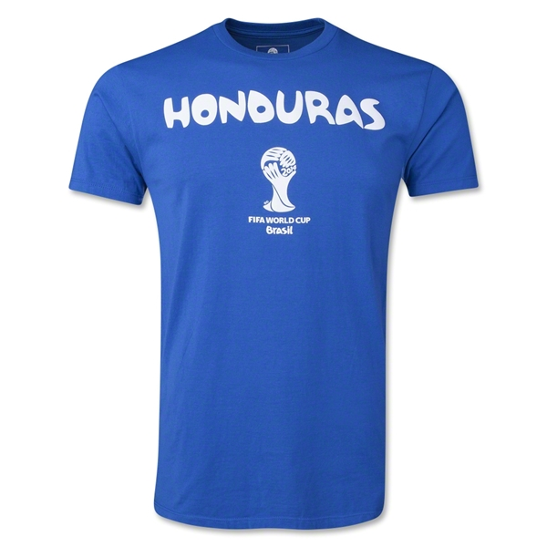 Honduras 2014 FIFA World Cup T-Shirt (Royal)