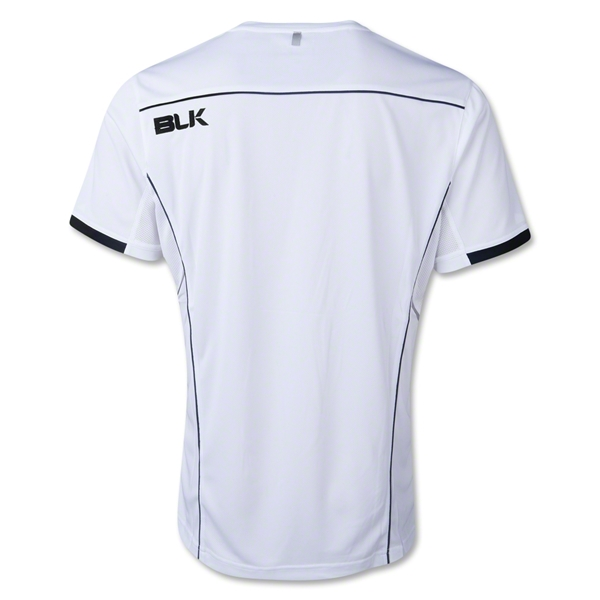 BLK Tek V Training Shirt (White/Black)
