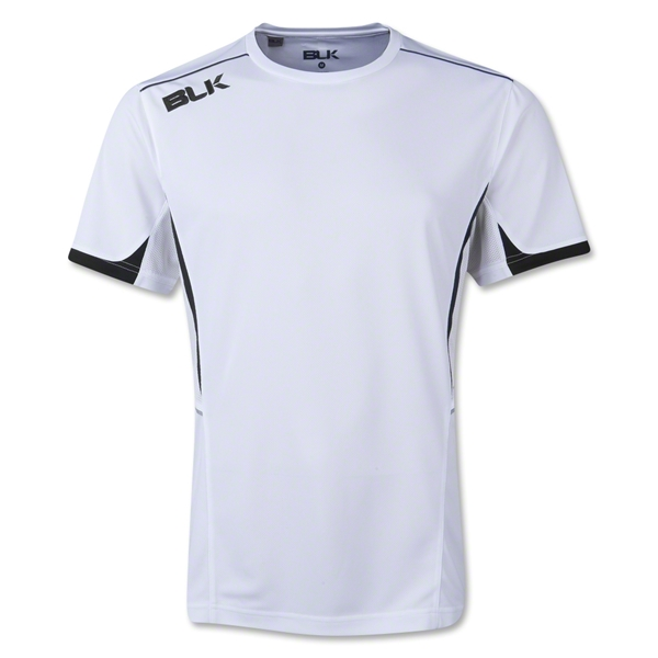 BLK Tek V Training Shirt (White/Navy)