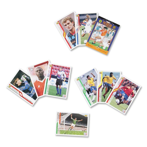 Upper Deck 1994 FIFA World Cup Card Pack (10 Cards)