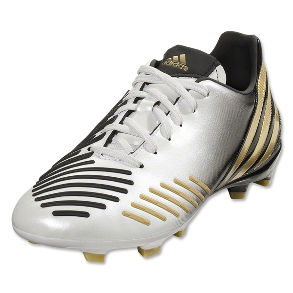adidas Predator Absolado LZ TRX FG Junior (White/Black/Metallic Gold)