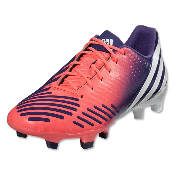 adidas Women's Predator LZ TRX FG (Red Zest/Running White/Collegiate Purple)