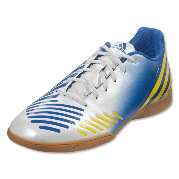 adidas Predito LZ IN (White/Prime Blue/Vivid Yellow)