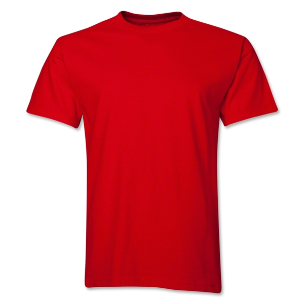Custom Print T-Shirt (Red)