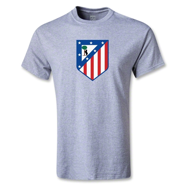 Atletico Madrid Crest T-Shirt (Gray)