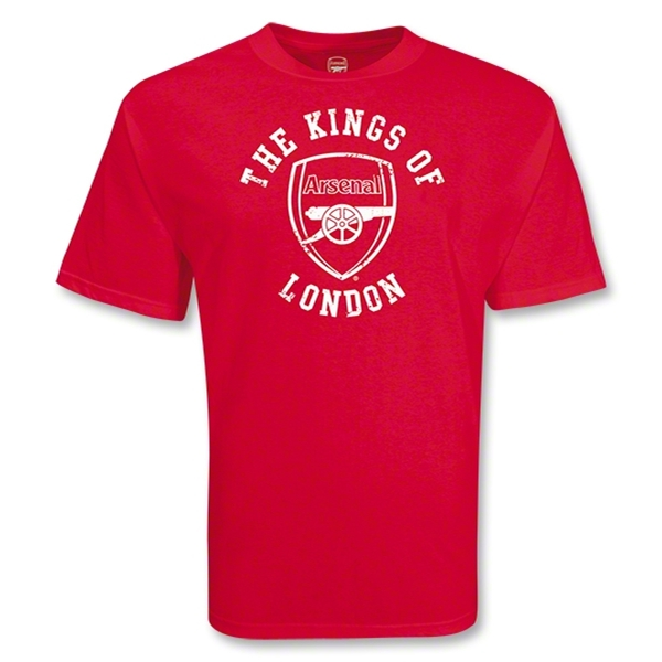 Arsenal The Kings of London T-Shirt (Red)