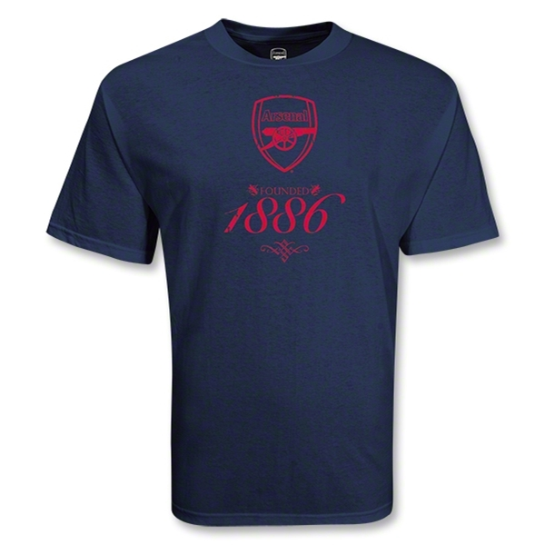 Arsenal 1886 Soccer T-Shirt (Navy)