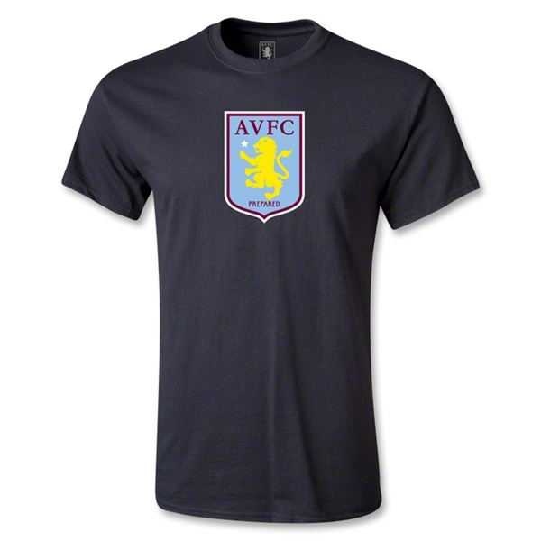 Aston Villa T-Shirt (Black)