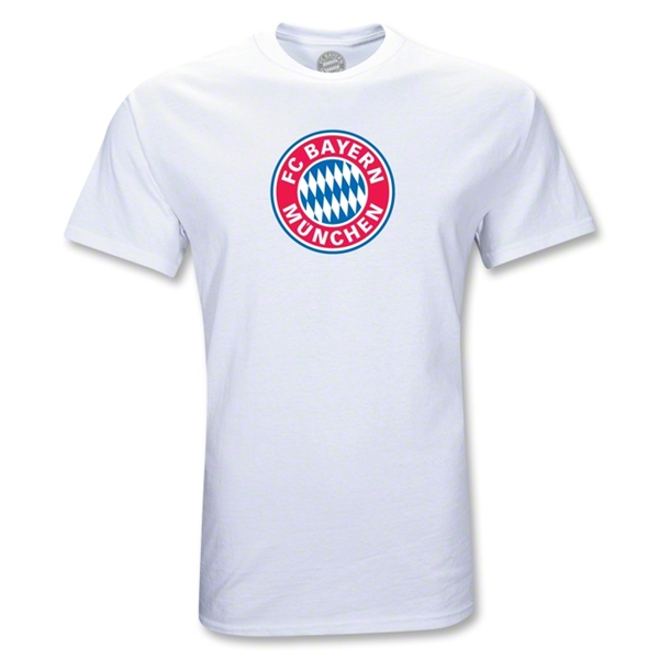Bayern Munich Logo T-Shirt (White)