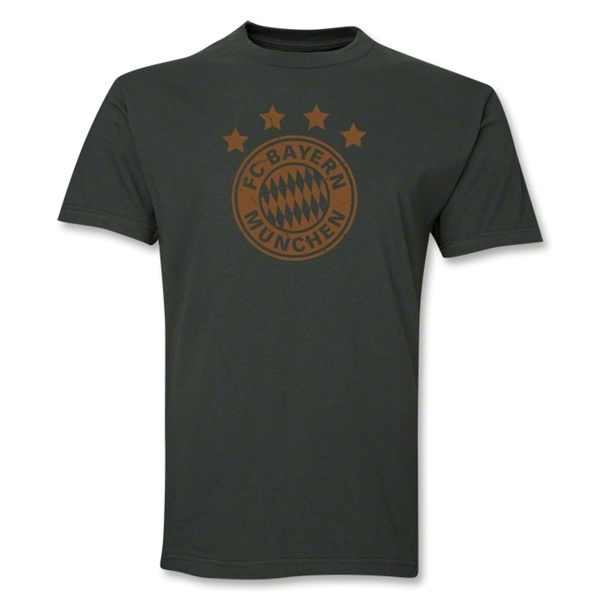 Bayern Munich Team Badge T-Shirt (Dark Green)