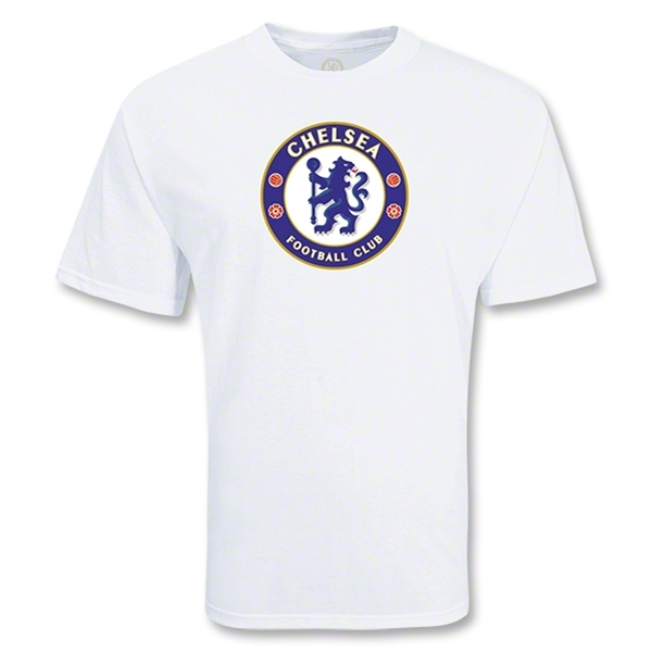 Chelsea Big Crest T-Shirt (White)