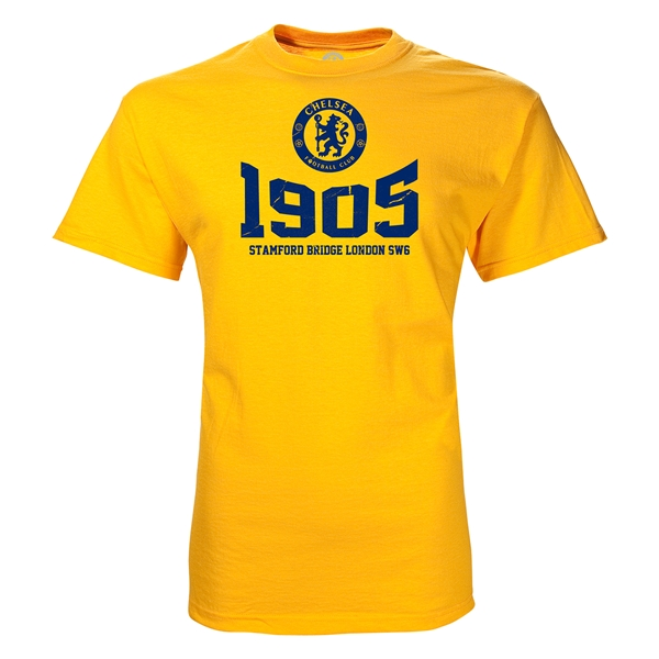 Chelsea 1905 T-Shirt (Yellow)