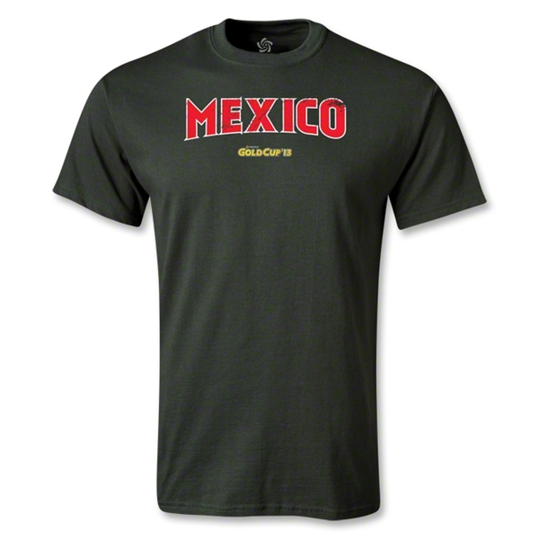 Mexico CONCACAF Gold Cup 2013 T-Shirt (Dark Green)